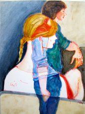 Junge Frau, 1984