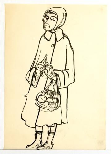 Sammlung Jaruska, Zeichnungen